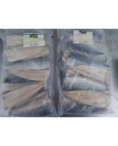 Makrellfilet med skinn 5KG